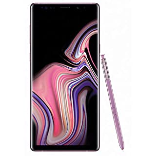 Samsung Galaxy Note 9 (SM-N960F/DS) 6GB / 128GB (Lavender Purple) 6.4-inches LTE Dual SIM (GSM ONLY, NO CDMA) Factory Unlocked - International Stock No Warranty