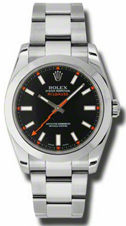 Rolex Milgauss Black Dial 40mm Men
