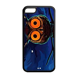 Case for iPhone 5C,Cover for iPhone 5C,iPhone 5C case,Hard Case for iPhone 5c,Owl Design TPU Screen Protector Hard Case for Apple iPhone 5c