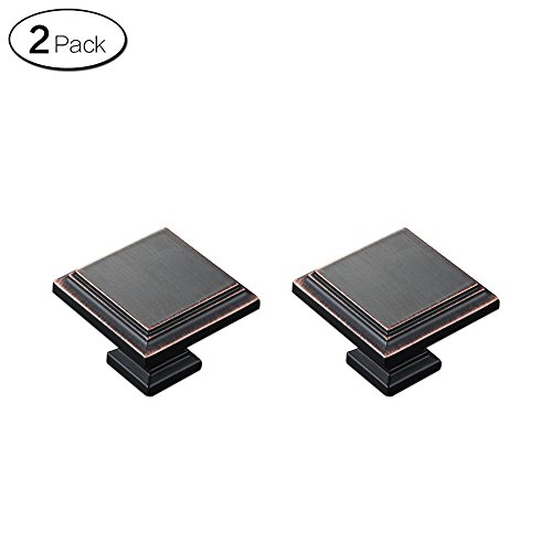 Zhi Jin 2Pcs Black Red Book Drawer Handle Door Cabinets Handles Furniture Set Oil Rubbed Bronze Single Hole