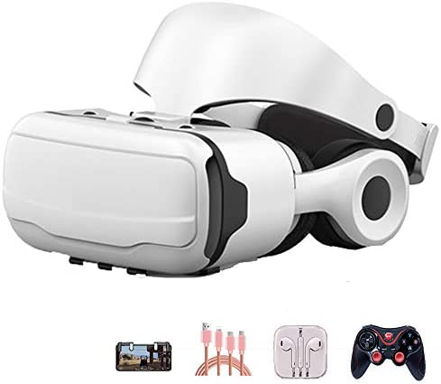 バーチャルリアリティのメガネ 3Dメガネ 110°の視野角、 に適しています 4.7-6.0インチ IOS/Android 携帯電話,Package3