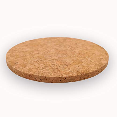 (Cork Coasters Round for Drinks, 6 PCS, 4