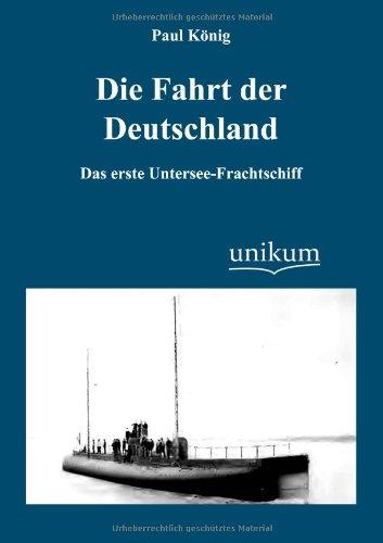 Die Fahrt der Deutschland (German Edition) pdf