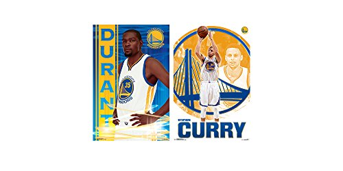 """Trends International Wall Poster Steph Curry and Kevin Durant Collector's Bundle, 22.375"""" x 34"""""""