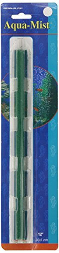 Penn Plax Aqua Mist Air Stone Bar Aerator for Fish Tank, 12-Inch (Aqua Mist Bar)