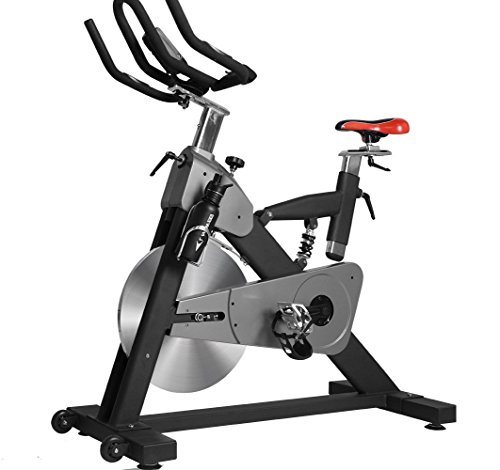 Professional Indoor Exercise Cycling Bike With LCD Monitor and 55lb flywheel - Commercial Standard Jiayin(Shanghai) Jinchukoumaoyi CO.,LTD