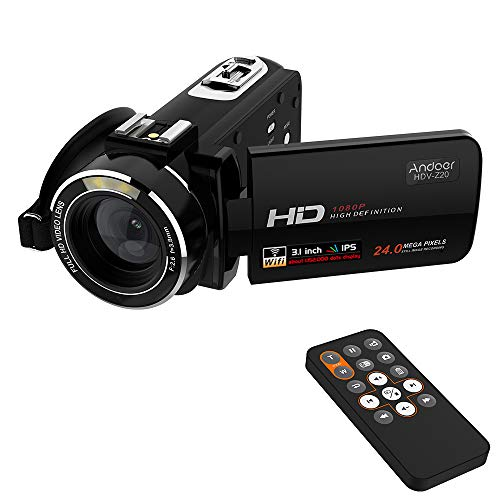 Andoer HDV-Z20 Portable 1080P Full HD Digital Video Camera M