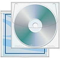 Modified Jewelpak™ CD/DVD sleeve with Safety-sleeve® - Case of 1000