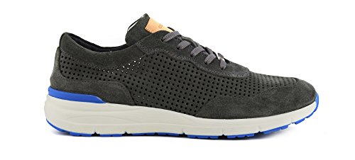 CafèNoir - Sneakers Uomo in Crosta Traforata - Grigio - Café Noir - PA603 016 - MPA603016 - Grigio, 42