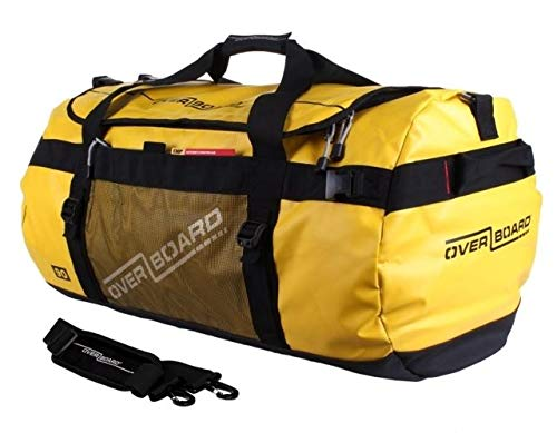 OverBoard Adventure Duffel Bag, Yellow, 90-Liter by Overboard