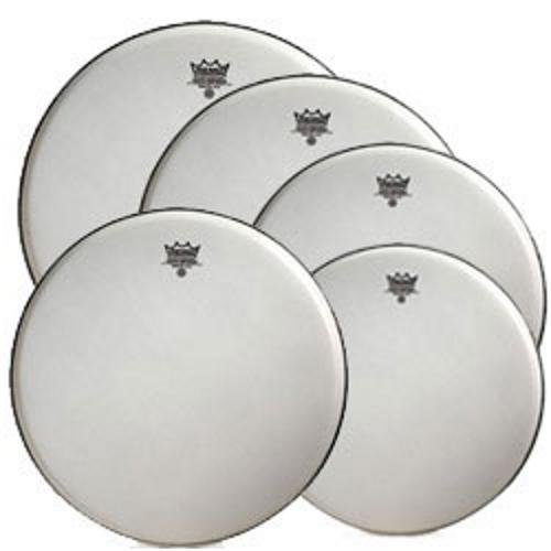 Remo Suede Emperor Standard Size Drum Head Pre Pack (with 14