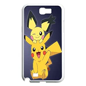 FOR Samsung Galaxy Note 2 Case -(DXJ PHONE CASE)-Cute Cartoon Pikachu-PATTERN 8