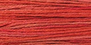 product image for Weeks Dye Works Over-Dyed 6-Strand Embroidery Floss, 5 Yds: Aztec Red