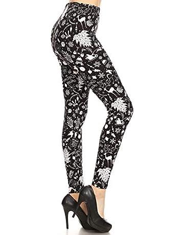 d986dab4f9ac97 Leggings Depot Women's Ultra Soft Printed Fashion Leggings BAT22