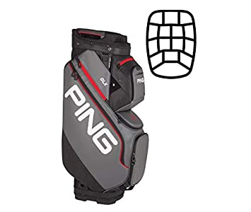 Amazon.com: PING DLX Cart Bag 2019: Sports & Outdoors
