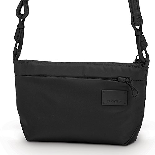 Pacsafe Citysafe CS25 Anti-Theft Cross-Body and Hip Purse, Black