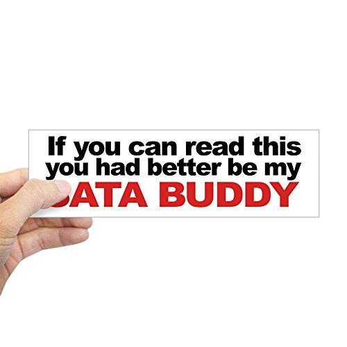CafePress SATA Buddy Bumper Sticker 10