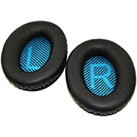 Bose Replacement Ear Pads Foam Cushion Kit - Compatible with Bose Quietcomfort 2/Quiet Comfort 15/QC 25/Ae2/Ae2i/Ae2w/Sound True/Sound Link