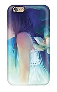AMGake Design High Quality A Fairy And A Little Girl Cover Case With Excellent Style For Iphone 6