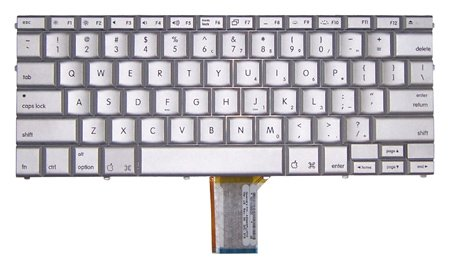 (Laptop Keyboard for Apple Powerbook MacBook G4/G5 15