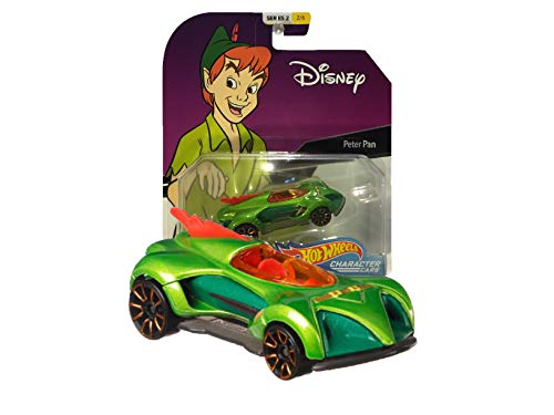 Hot Wheels Disney Character Cars Series 2 2/6 Peter Pan ()