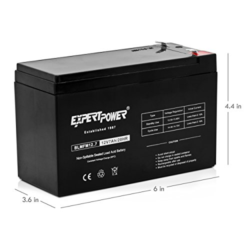 expertpower 12v 7 amp exp1270 rechargeable lead acid battery buy online in uae automotive. Black Bedroom Furniture Sets. Home Design Ideas