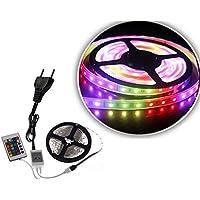 RGB Led Şerit Seti Dış Mekan 3 Metre Kumandalı 16 Renkli
