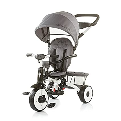Triciclo evolutivo con respaldo reclinable Urban Blue (grey)
