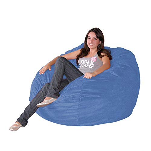 Cozy Sack 3-Feet Bean Bag Chair, Medium, Sky Blue