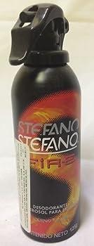 Stefano Black Desodorante / Deodorant Spray by Lournay 4.3 Oz (125 grs)