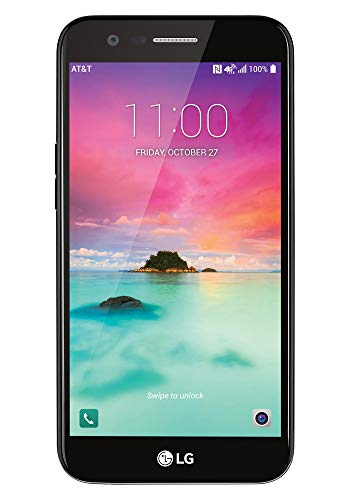 LG K20 M255 4G LTE Android Nougat 7.0 32GB Smartphone Black/Gold - GSM Unlocked (The Best Unlocked Android Smartphone)