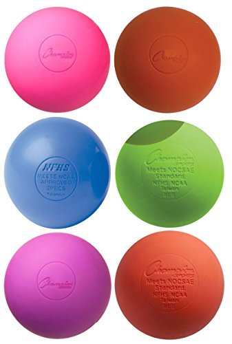 Lacrosse Balls (6-Pack) - Vibrant Color Mix