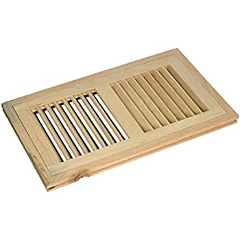Welland 6 Inch X 12 Inch Red Oak Hardwood Vent Floor