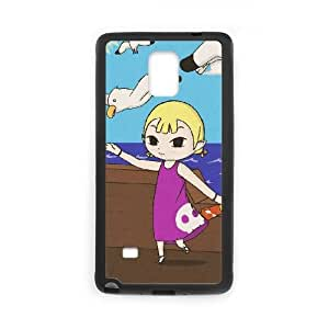 Samsung Galaxy Note 4 Cell Phone Case Black The Legend of Zelda The Wind Waker Aryll Rpjaq