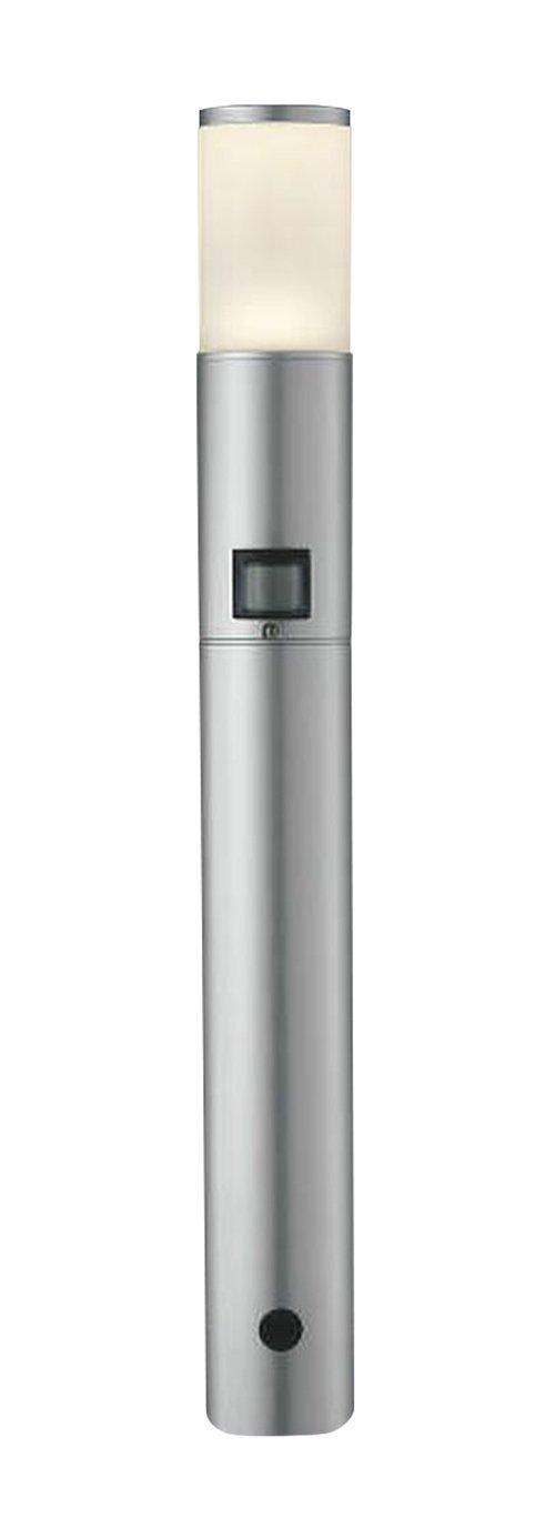 コイズミ照明 人感センサ付ガーデンライト ON-OFFタイプ 電球色 シルバーメタリック AU37704L B00DS2V1VE 16951