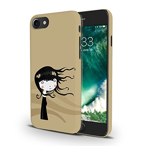 Koveru Back Cover Case for Apple iPhone 7 - Girl in storm