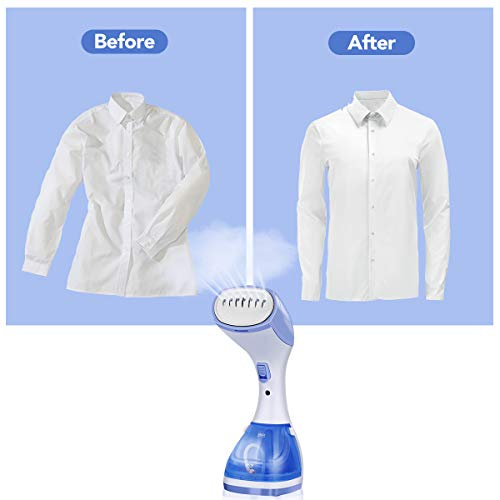 Godmorn Handheld 1100w for Clothes, Wrinkle for Controlling 100% Safe, for Home