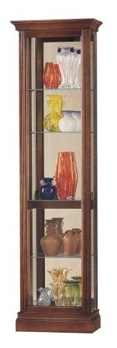 Metal Curio Cabinets (Howard Miller 680-245 Gregory Curio Cabinet by)