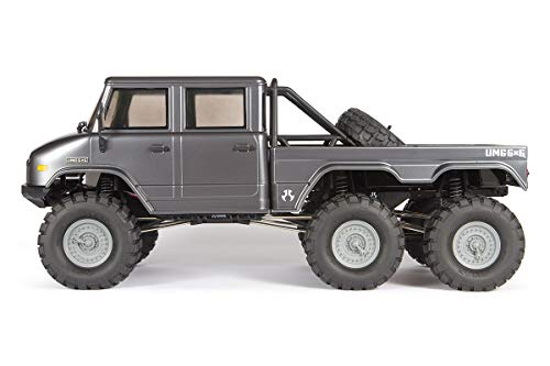 Axial SCX10 II Umg10 6x6 RC Rock Crawler RTR with 2.4Ghz Radio Transmitter System (Battery, Charger Sold Separately): 1/10 Scale, AXI03002 (Truck Rc Trail 6x6)