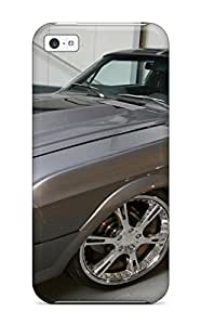 Gray And Black Mustang Vehicles Cars Mustang Case Compatible With Iphone 5c/ Hot Protection Case