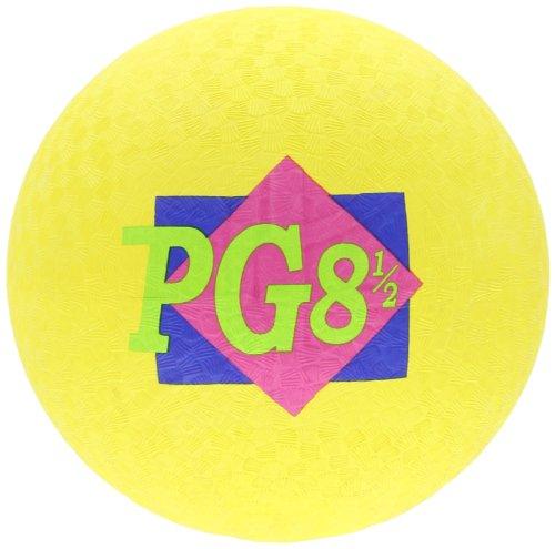 School Smart Playground Ball - 8 1/2 inch - Yellow by School Smart