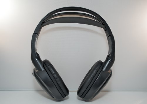 Wireless DVD Headphones Kids Headset for Chevy Avalanche Black