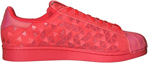 Adidas Originals Mens Superstar Mode Sneaker Vivred / Vivred / Vivred