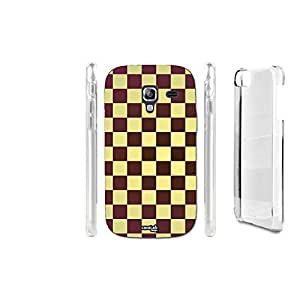 FUNDA CARCASA QUADRATI BROWN PARA SAMSUNG GALAXY ACE 2 I8160