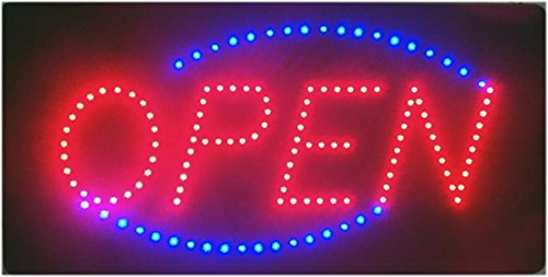 LED Open Sign 19x10