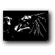 Pyramid Bob Marley Black and White Wall Poster