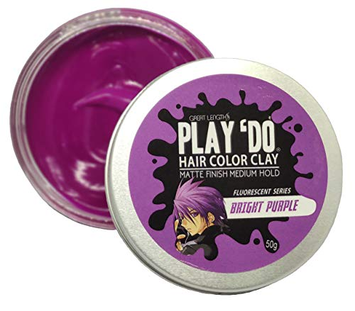 Play 'Do Temporary Hair Color Bright Neon Purple,...