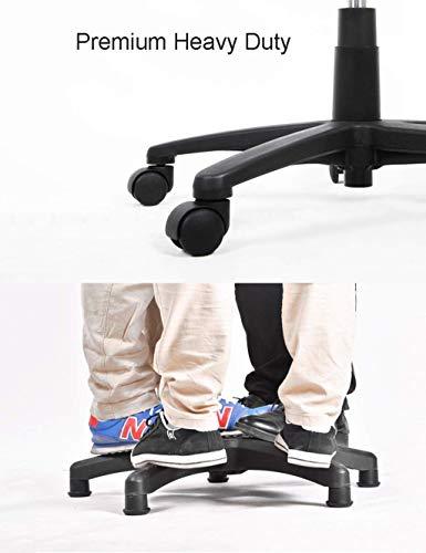 JIEER-C Ergonomisk stol premium dator kontor stol verkställande skrivbord uppgift hög rygg justerbart möte bord med nackstöd stöd ländrygg textil linne vadderad (röd)