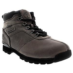 Timberland Mens Splitrock 2 Rain Winter Hiking Nubuck Ankle Boots - Gray - 9.5/43.5