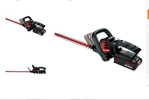 Craftsman 40-volt Lithium-ion Hedge Trimmer.